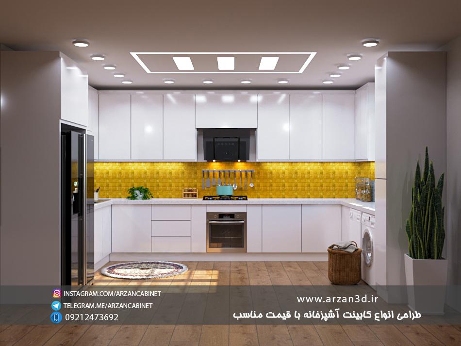 tarahi cabinet kitchend 3d design طراحی کابینت سه بعدی سه بعدی کابینت ارزان کابینت سفارش طراحی کابینت آشپزخانه تری دی مکس